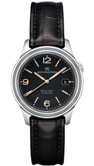Sjöö Sandström Royal Steel Classic 41 mm