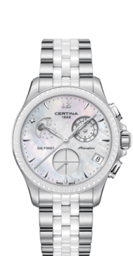 Certina DS First Lady Chronograph Moon Phase