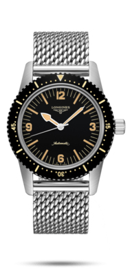 Longines Heritage Skin Diver Watch