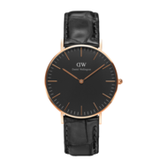 Daniel Wellington Classic Black Reading 36 mm